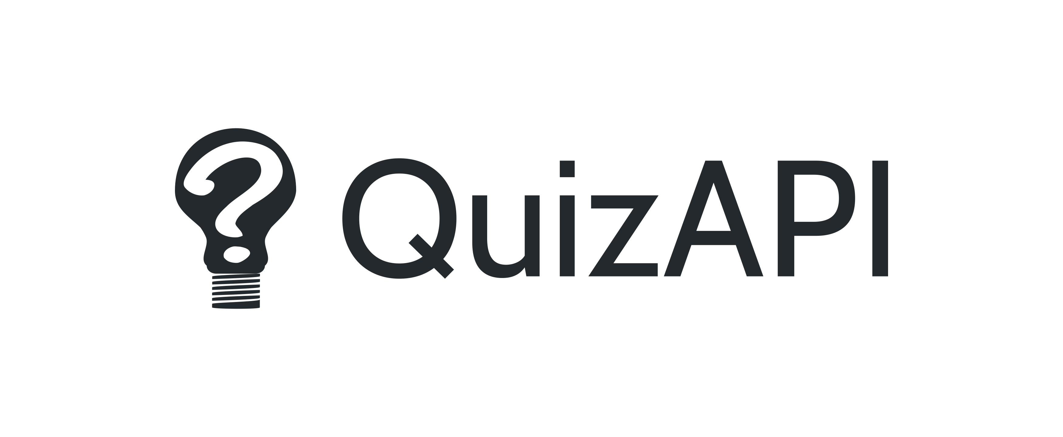 Quiz API Dark Logo